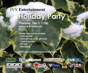 IVY Entertainment Holiday Party 2013