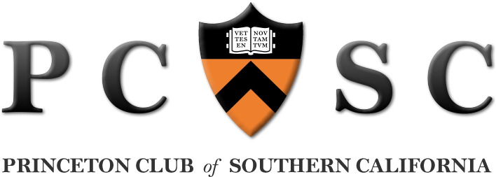 Princeton Club of Southern California Retina Logo